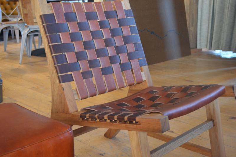 Chairs by Hemlock Leatherworks