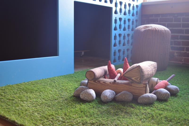 Kids play area by Loll Designs