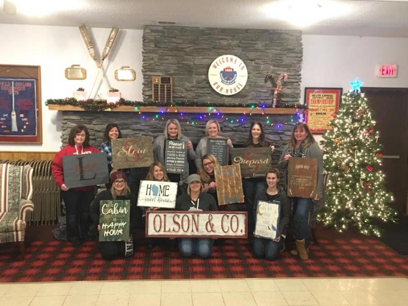 DIY Wood Sign Workshop, Wed. 3/28 at 5:30 PM - 8:30 PM,  Iron Mug Coffee House, 1096 88th Ave W, Duluth