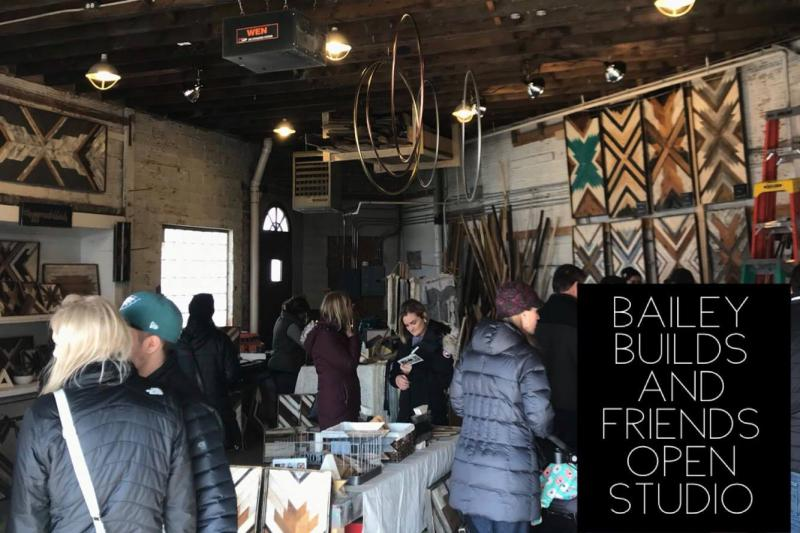 Bailey Builds and Friends Open Studio, Saturday April 7 at 10 AM - 2 PM at 5727 Grand Ave, Duluth
