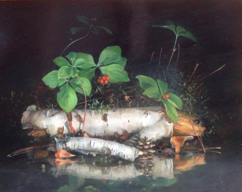 APR19: What Goes Around-Paintings by Wendy Rouse, Thursday at 5 PM - 7 PM, Lizzard's Art Gallery & Framing, 11 W Superior St, Duluth, Minnesota 55802