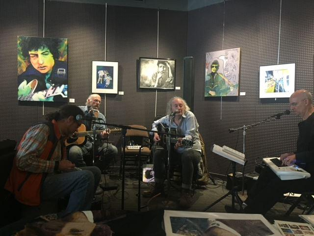 """Duluth Dylan Fest's """"Visions of Duluth"""" art exhibit opens tonight (5/21) at Zeitgeist"""