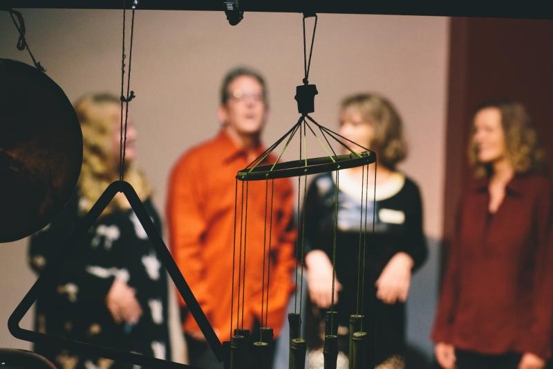 New music ensemble Zeitgeist performs at the Tweed Museum of Art