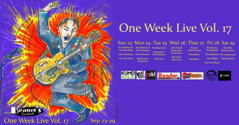 Beaner's One Week Live