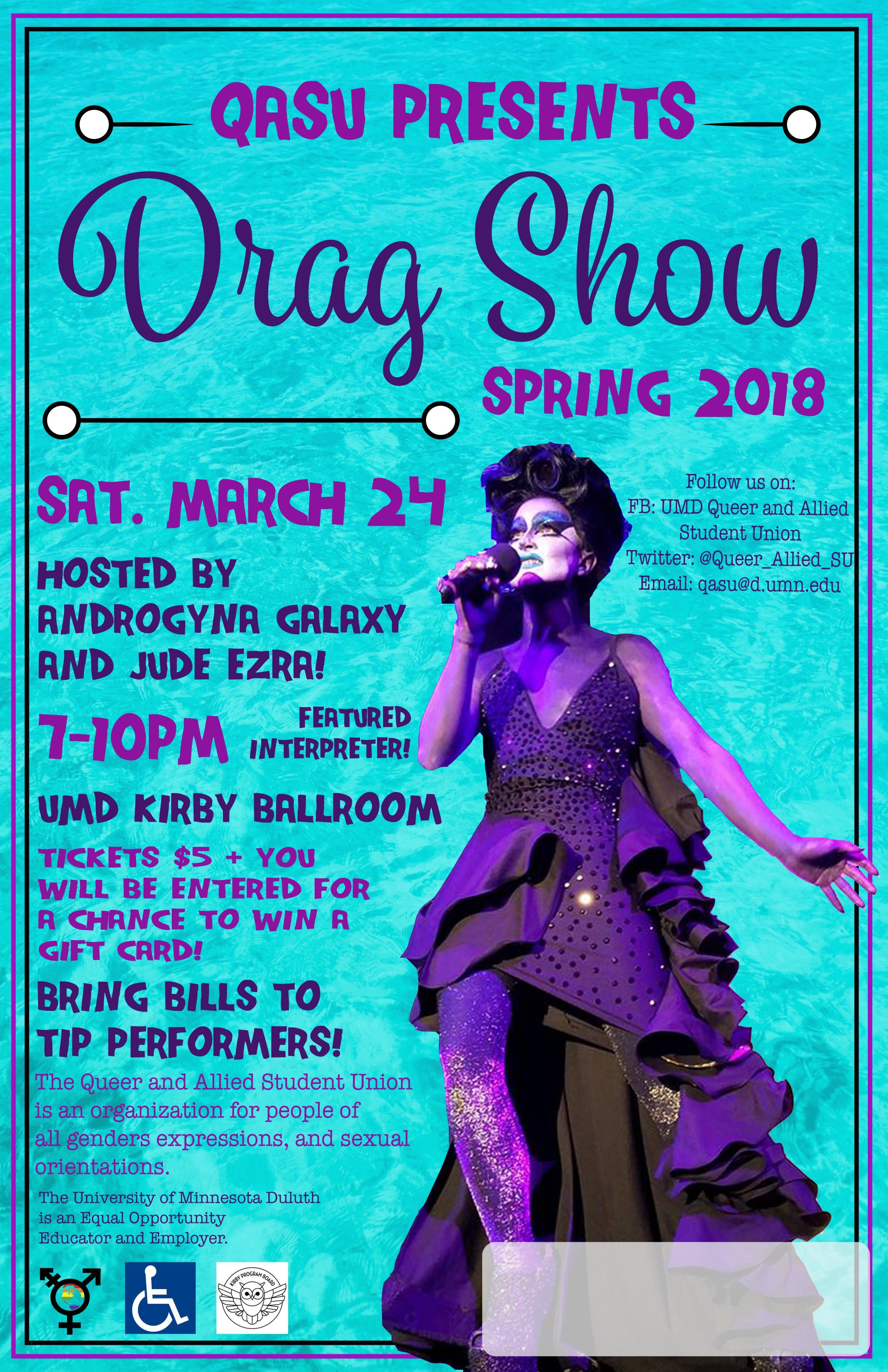 Qasu Drag Show Ticket Giveaway Kumd