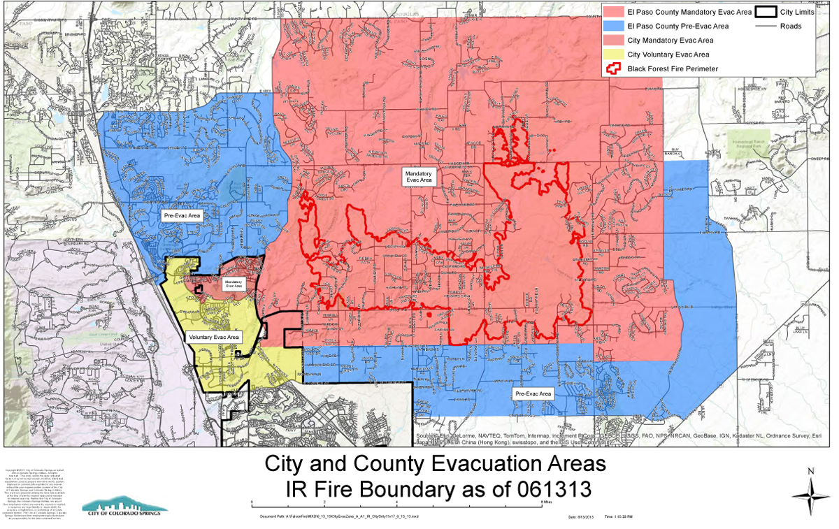 Friday Updates For The Black Forest Fire Other Colorado