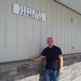Luke Cure, who started FarmReign, an agriculture consulting business, to help farmers use technology to help make better decisions.