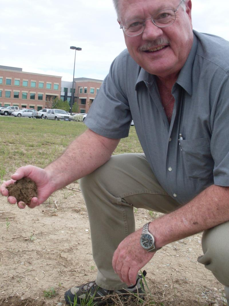Vietnam-era veteran Rob Allerheiligen is one of a small group of volunteers who have traveled to historic graveyards and battlefields across the world. The idea is to collect soil samples that on Sunday will become part of the Veterans Plaza garden.