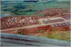 In 1968, Khe Sanh was heavily attacked by North Vietnamese for almost four months.