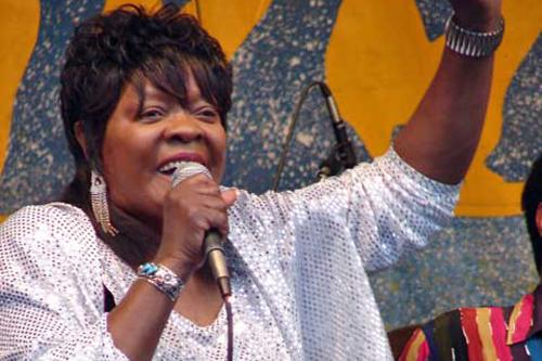Koko Taylor at the New Orleans Jazz & Heritage Festival, 2007