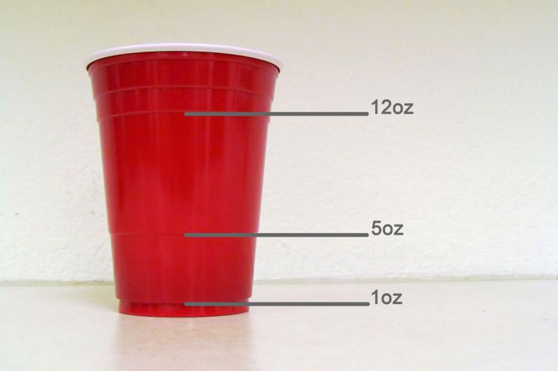 We had no idea. The lines on a Solo cup correspond to typical ounce measurements of your favorite summer beverages.