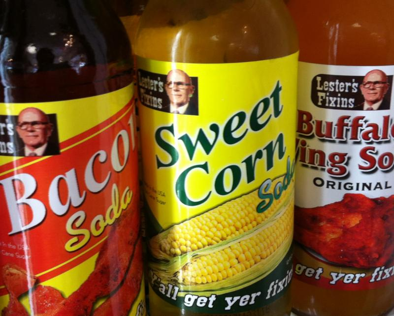 Just some of the unique soda flavors found at Rocket Fizz Soda Pop and Candy Shop.