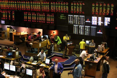 Once a formidable trading floor, action on the Kansas City Board of Trade has slowed considerably over the last decade.
