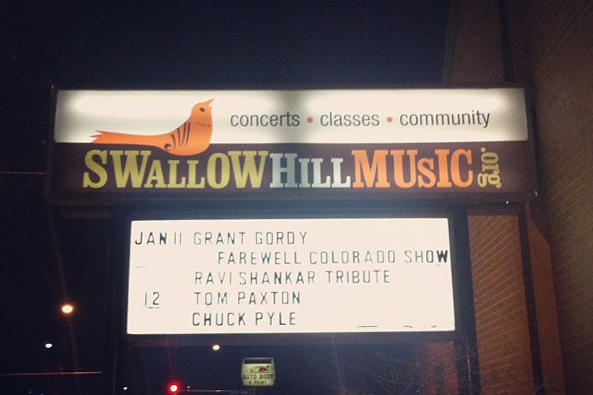 Grant Gordy posted the marque for his farewell show to Twitter January 11, 2013