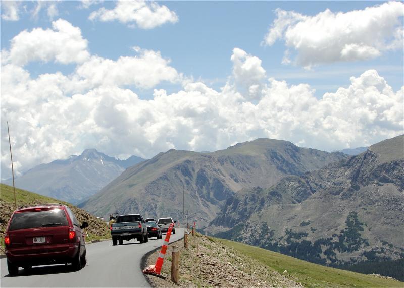 Trail Ridge Road. August 2010