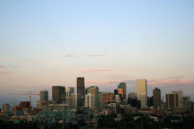 Downtown Denver as seen in this file photo from 2008