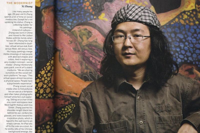 Painter Xi Zhang