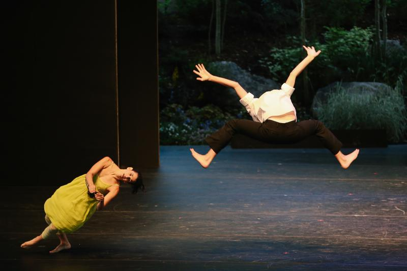 Francesca Romo and Jonathan Royse Windham from Gallim Dance perform at the 2013 Vail International Dance Festival.