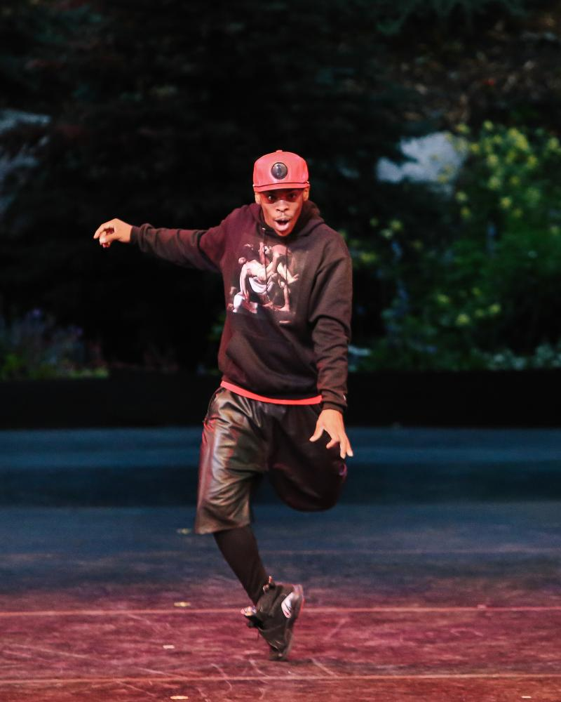 "harles ""Lil Buck"" Riley in Gangsta Walk on Opening Night at the 2013 Vail International Dance Festival."
