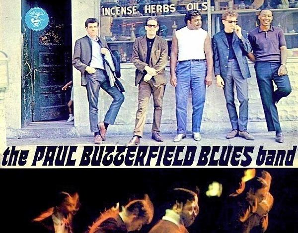 Cover of the Paul Butterfield Blues Band self titled 1965 album