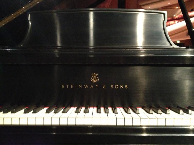 The Steinway pianos at the UCCC were recently refurbished, in time to mark the performance venue's 25th anniversary.