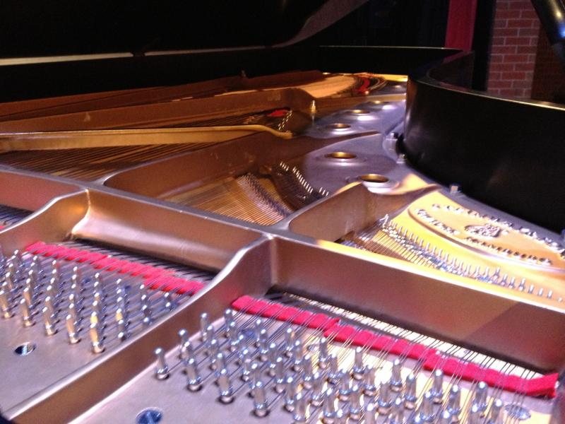 There are 12,116 parts in a Steinway piano.