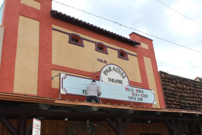 The Paradise Theatre in Paonia is receiving a state grant, but still needs to raise $33,000 to convert to digital.