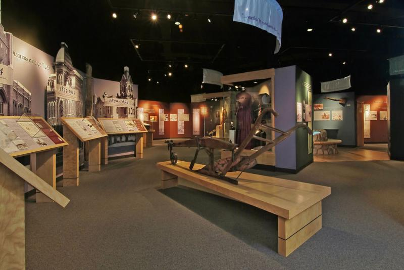 Inside Greeley's History Museum