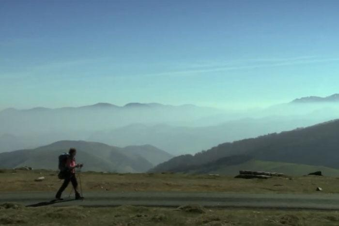 Screencap from the documentary, 'Walking the Camino: Six Ways To Santiago.'