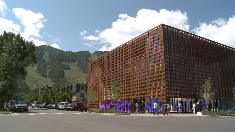 The new Aspen Art Museum.