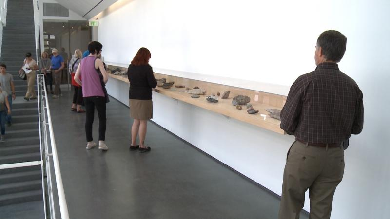 The exhibit Colorado Minerology is among the Aspen Art Museum's inaugural exhibits.