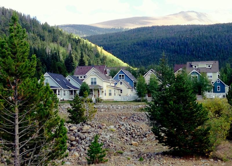 The Wellington Neighborhood in Breckenridge, Colorado.