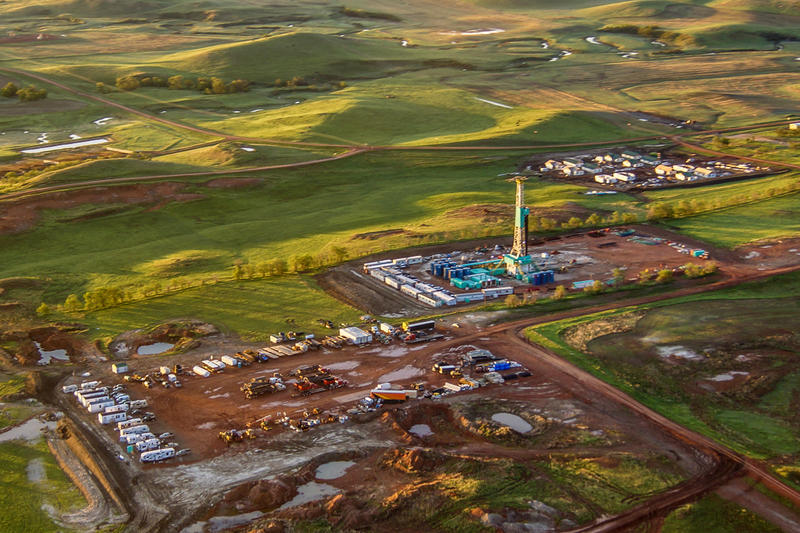 A Bakken drill site near Williston, North Dakota. The state has a made a change to their severance tax system for the industry, changing the rates for both a boom and and a downturn.