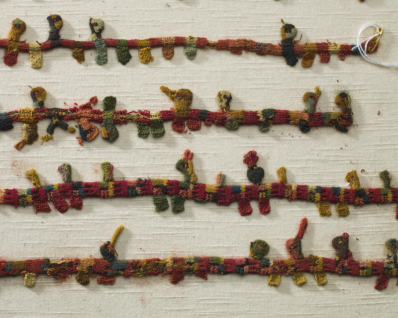 Pre-Columbian era burian ties are among the oldest items in the Avenir's collection.