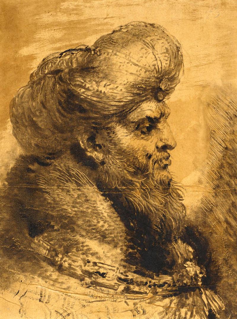 'The Head of an Oriental'