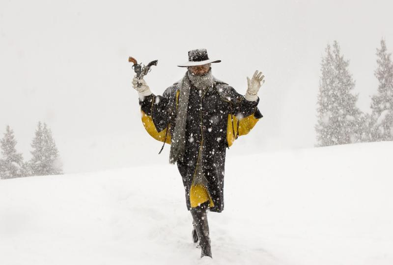 Actor Samuel L. Jackson in a scene from the film 'The Hateful Eight.'