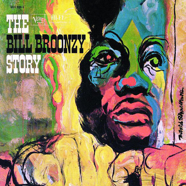 The album cover for 'The Bill Broonzy Story,' released in 1960.