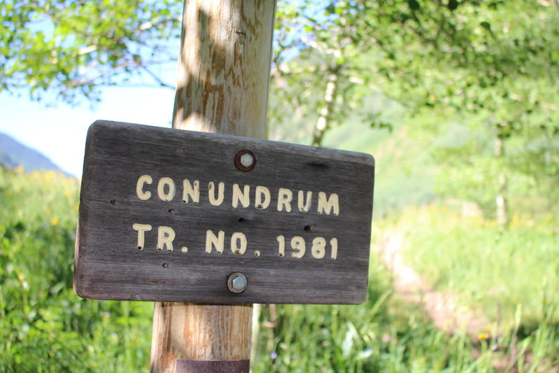 Trash and human waste have become big problems at Conundrum, according to the U.S. Forest Service. In 2015, the agency cleaned up more than 500 pounds of trash and more than 300 unburied poop piles in the Maroon Bells-Snowmass Wilderness.