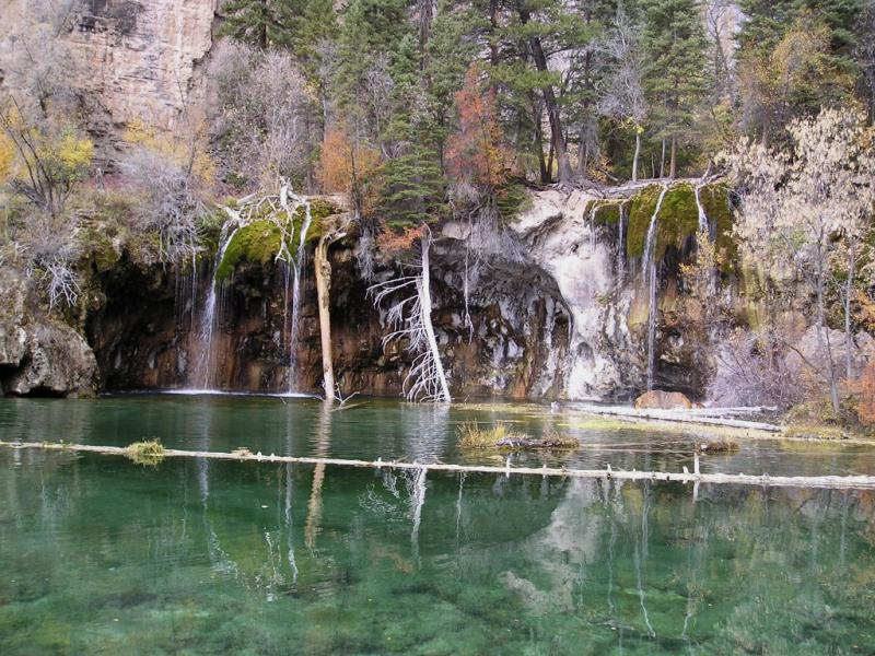 In 2015 more than 130,000 people visited Hanging Lake. Many took pictures on the log, which officials say won't last much longer.