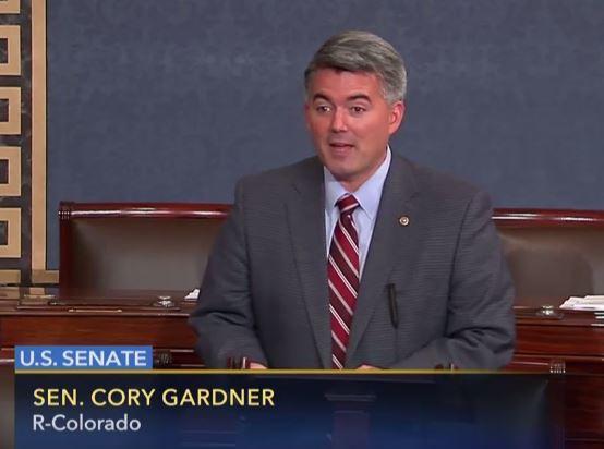 Colorado Republican Sen. Cory Gardner.