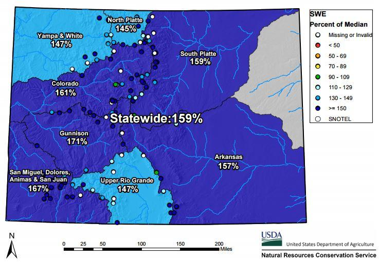 colorado snowpack map my blog