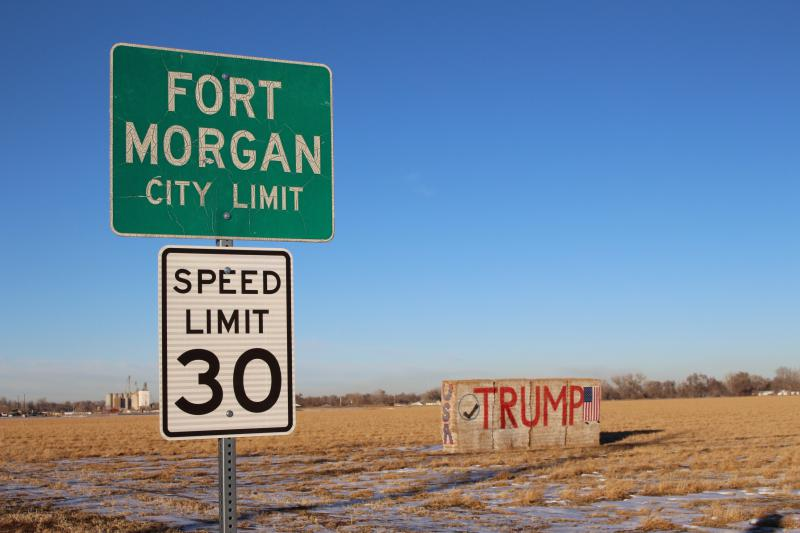 During the 2016 presidential election, president Donald Trump pulled in 68 percent of the vote in Morgan County, Colorado, where Fort Morgan is located.