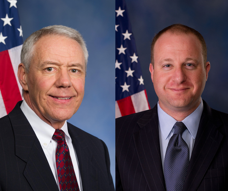 Reps. Ken Buck (left) and Jared Polis are in agreement on the need for change to the Federal Election Commission.