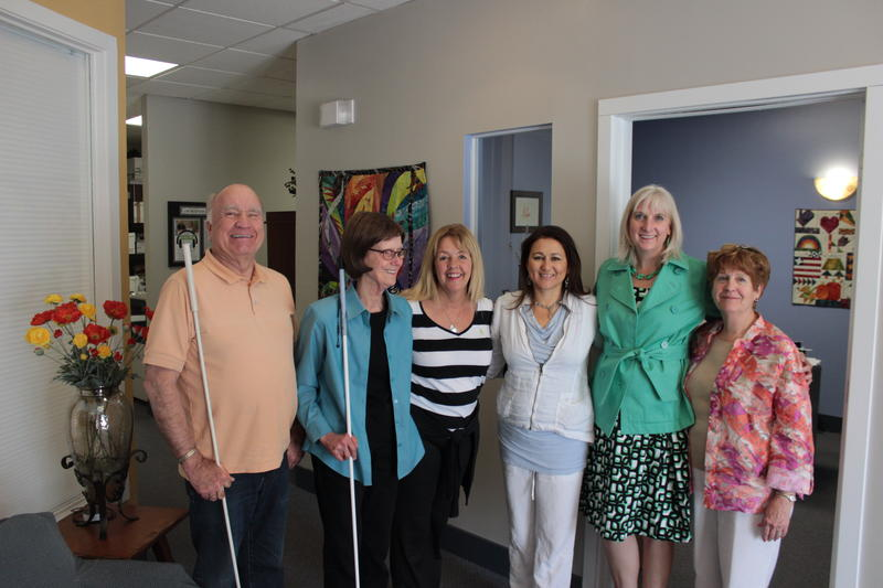 Staff, volunteers, and Board members of the Audio Information Network of Colorado