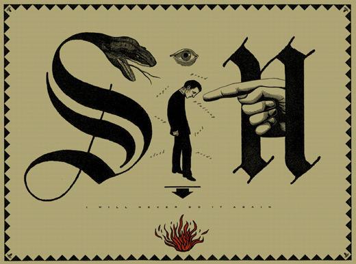 'Sin' (1995), Scorsone Drueding Posters