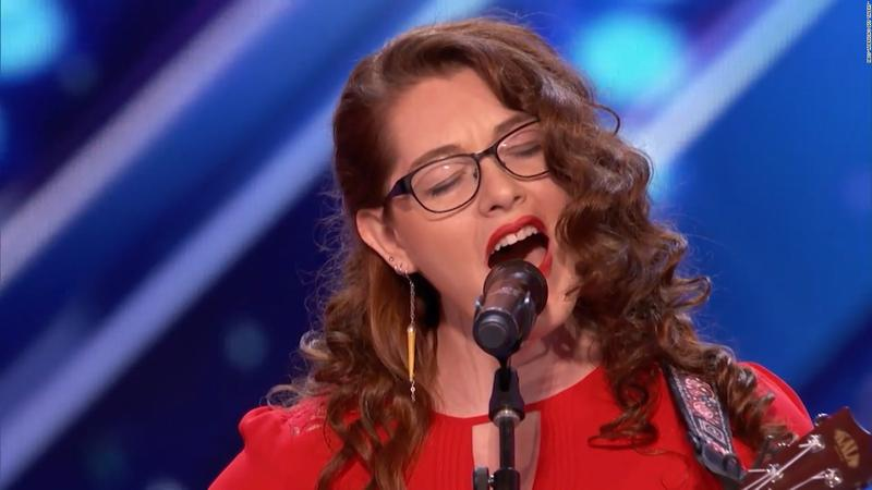 Singer Mandy Harvey auditioned for 'America's Got Talent' with her original song, 'Try.'