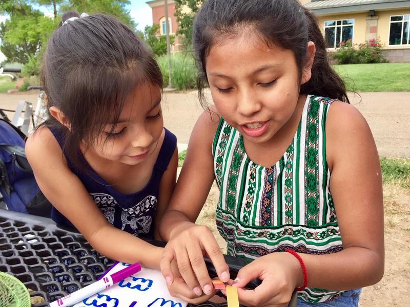 Alexa & Nelly, students at Casa de la Esperanza