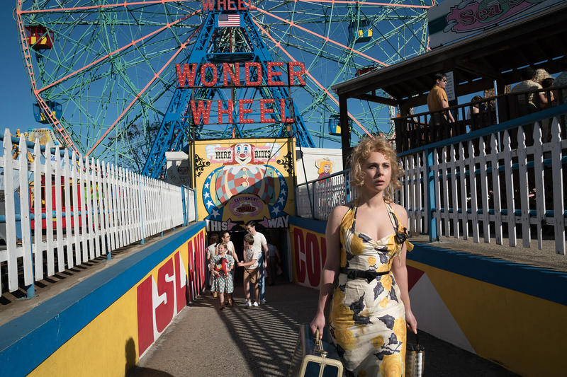 The Woody Allen film, 'Wonder Wheel,' starring Juno Temple (shown), won't be screened at the Fort Collins theater The Lyric.