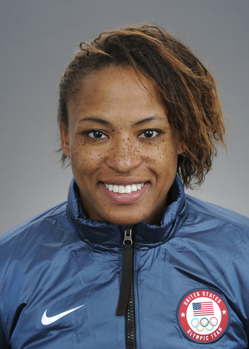 Lauren Gibbs, from Denver, will compete in bobsled.