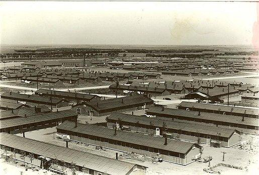 Amache, officially known as the Granada Relocation Center, as it looked when internees moved in.